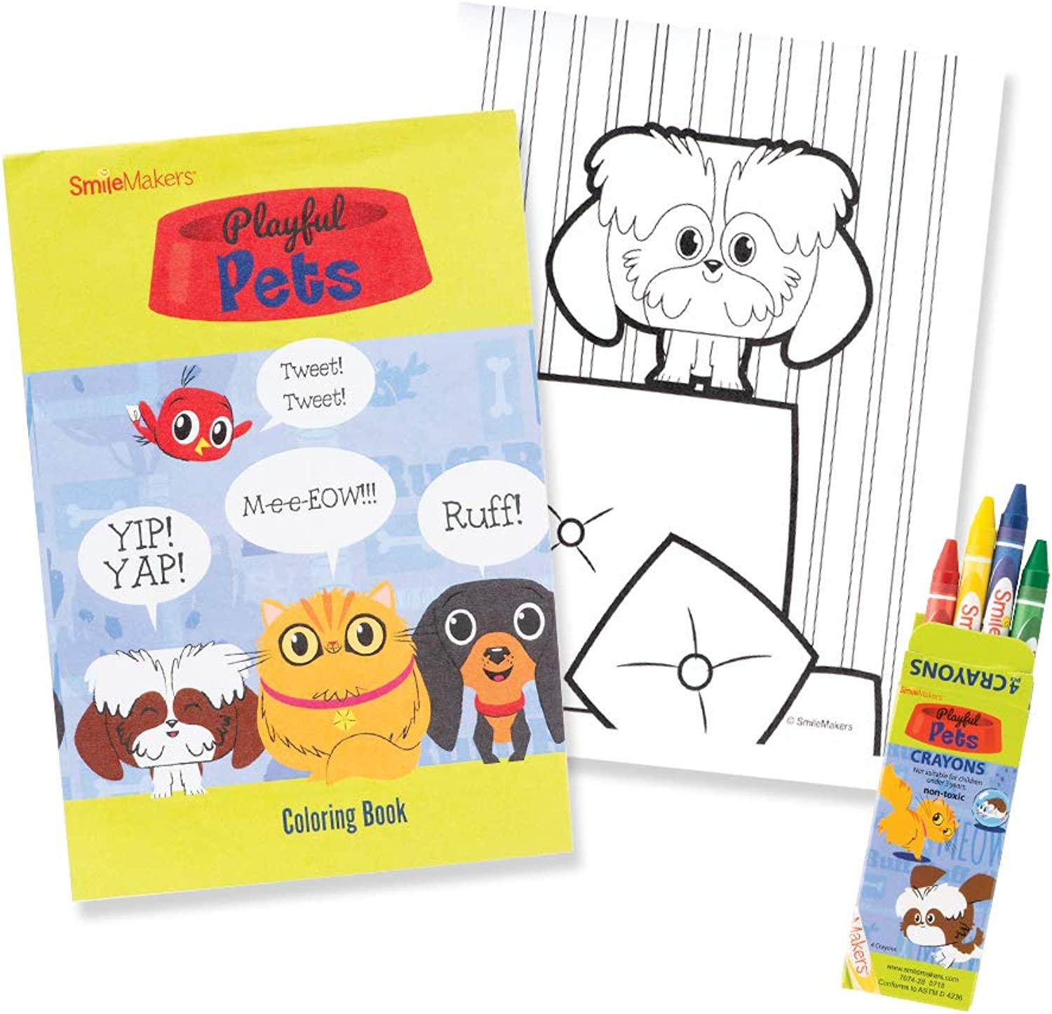 Playful Pets Colouring Value Pack  Prizes 152 per Pack