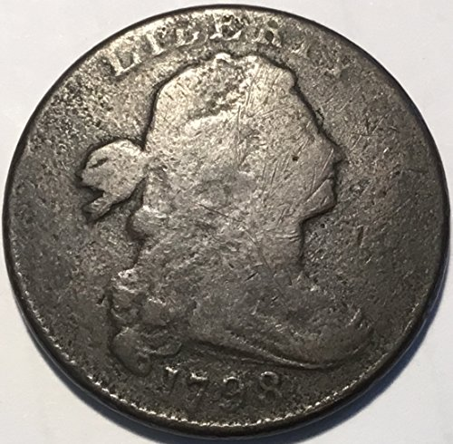 1798 Draped Bust Large Cent Cent Good