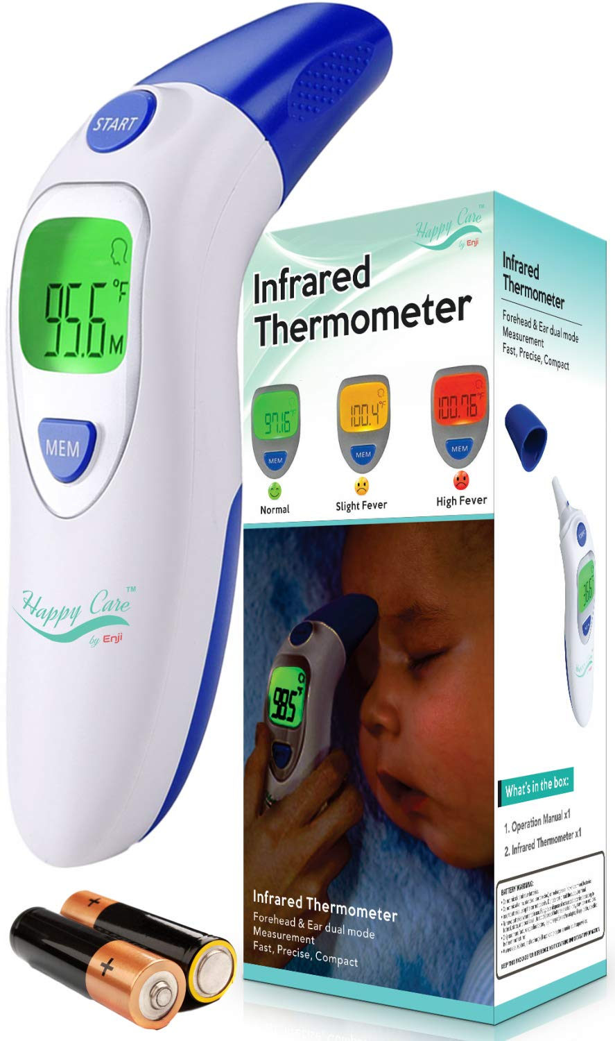 Childrens Adult Forehead Digital Thermometer