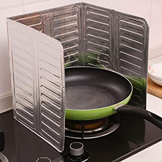 Cooking Tool Sets - Diy Practical Splatter Screens Home Stove Foil Plate Prevent Oil Splash Cooking Baffle Easy Clean - Sets Cooking Tool Cooking Tool Sets Kitchen Cook Splatter Screen Foil