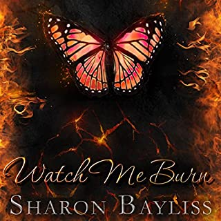 Watch Me Burn audiobook cover art