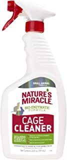 Nature's Miracle Cage Cleaner 24 fl oz, Small Animal Formula, Cleans And Deodorizes Small Animal Cages, 2nd Edition