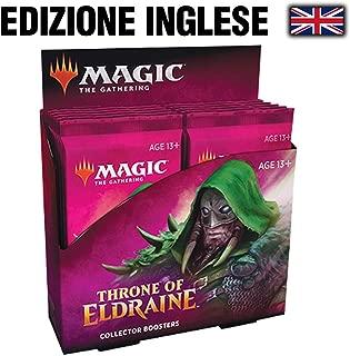 MTG マジック:ザ・ギャザリング エルドレインの王権 コレクター・ブースターパック 英語版 12パック入り BOX