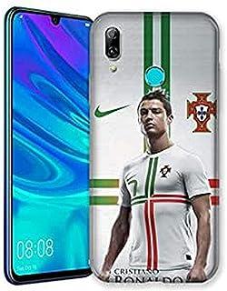 Carcasa para Huawei Honor 10 Lite/P Smart (2019) Cristiano Ronaldo Blanco