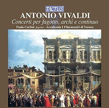 Vivaldi: Concerti per fagotto, archi & continuo
