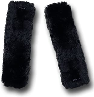 Best black furry seat covers Reviews