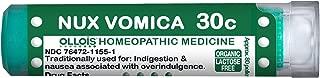 OLLOIS Organic Lactose-Free Nux Vomica 30C Pellets, 80Count
