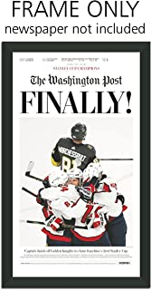 Washington Post - Washington Capitals Newspaper Frame