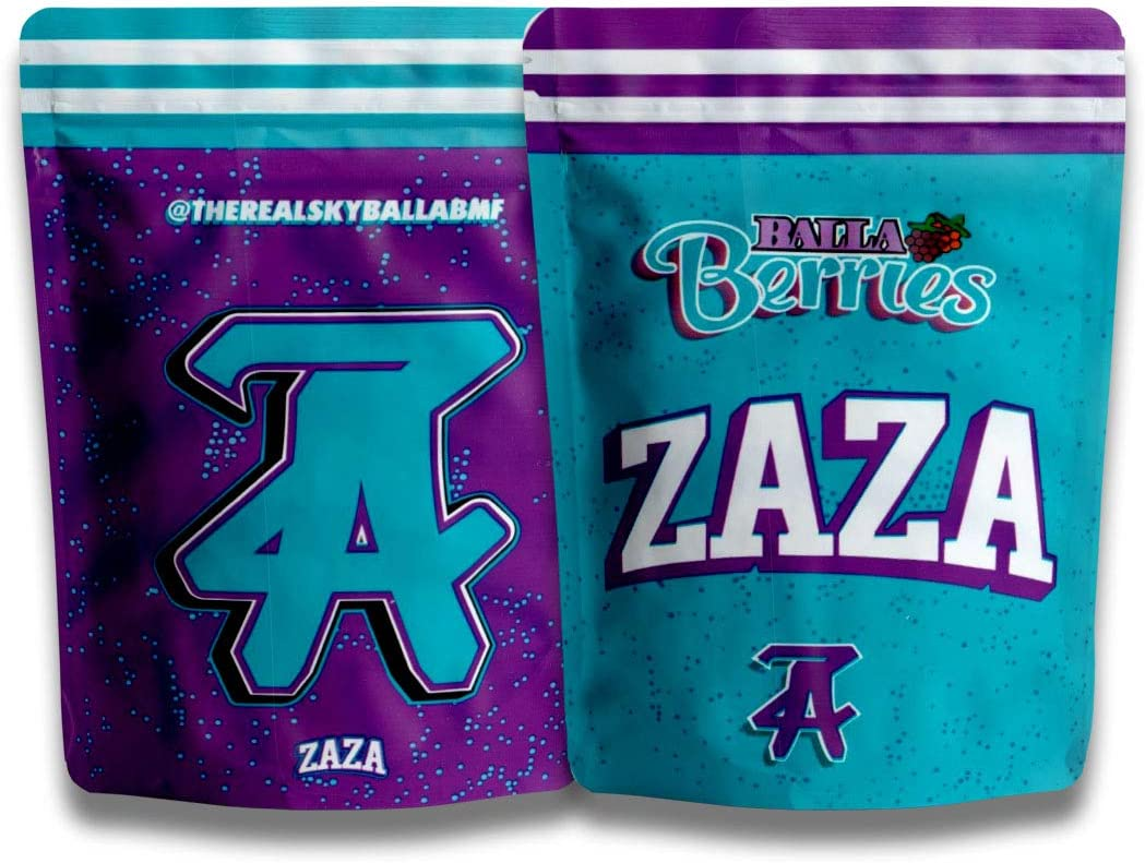 New 2021 Balla Berries security New Orleans Mall Airtight Smell Za mylar Proof bags 3.5g