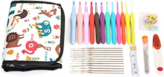 【𝐒𝐩𝐫𝐢𝐧𝐠 𝐒𝐚𝐥𝐞 𝐆𝐢𝐟𝐭】Crochet Kit Knitting Accessories Knitting Needles for Beginners Adults