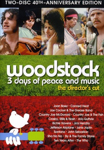 Woodstock: Three Days of Peace & Music (Two-Disc 40th Anniversary Director's Cut)
