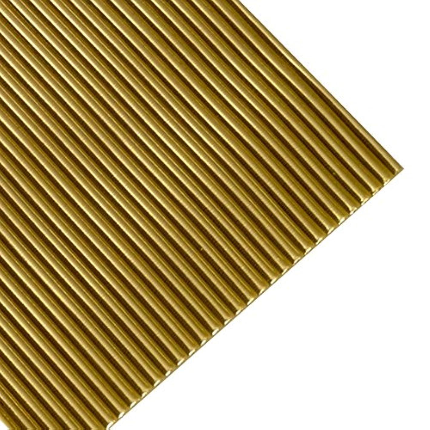Efco Wax Strips Round 200 x 2 mm 10 pcs. Gold Brilliant