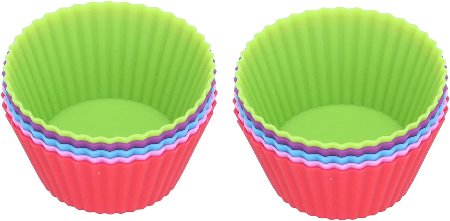 Silicone Challenge the Rapid rise lowest price Cupcake Food‑Grade 10Pcs Cup for Muffin