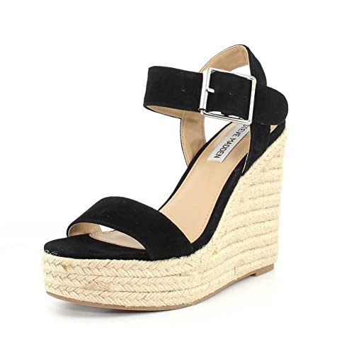 5c0664feb66 Steve Madden Womens Santorini Open Toe Casual Platform Sandals