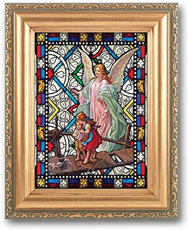 StealStreet SSWJHSG461350 Guardian Angel Textured Italian Art Glass