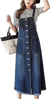 long denim dresses and skirts
