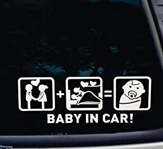 STRONG BABY ON BOARD CHILD SAFETY SUCTION CUP CAR VEHICLE BABY ON BOARD CAR SIGN