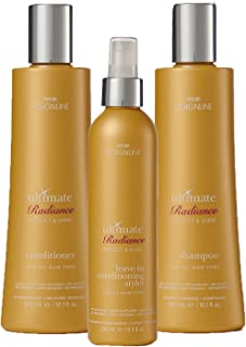 Ultimate Radiance Shampoo and Conditioner Trio Kit - Regis DESIGNLINE - Instantly Detangles, Heals, and Conditions Hair