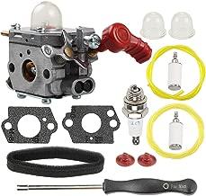 Mckin C1U-P27 753-06288 Carburetor + Air Filter Adjustment Tool fits Troy bilt MTD Murray 751-15112 TB2040XP TB2044XP TB2MB TB430 TB35EC MS2550 MS2560 MS9900 M25B RM430 Blower Trimmer Weed Eater Parts