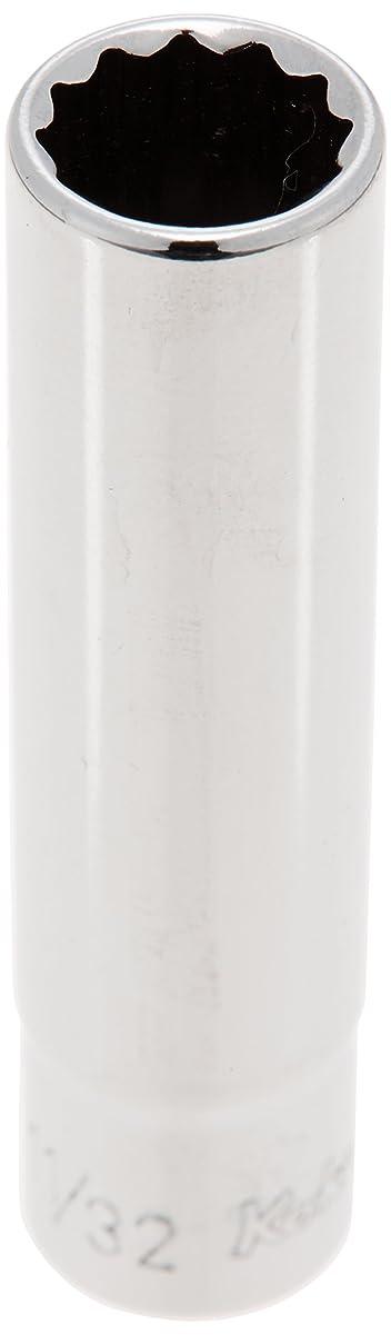 積分代わりにを立てるセラフコーケン 1/4(6.35mm)SQ. 12角ディープソケット(航空規格(AS954)ソケット) 11/32 AS2305A-11/32