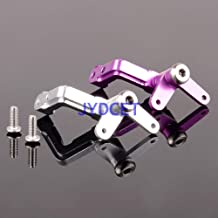 Hockus Accessories SAV1325 Set Bellcrank Linkage Aluminum for HPI Savage 25 SS 4.6 5.9 85051 85058 - (Color: Purple)