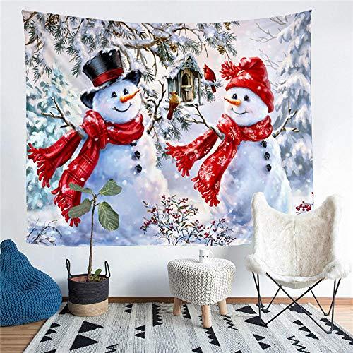 Impresión de nieve Decoración de sala de estar Tapiz de pared Estera de yoga Alfombra Decoración del hogar Arte Vi-242