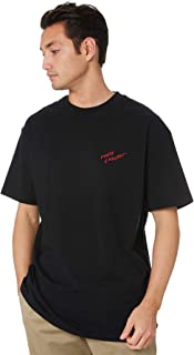 Globe Men's Lwa P&B Mens Tee Crew Neck Short Sleeve Cotton Black