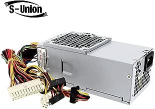 S-Union L250NS-00 250W Replacement Power Supply Compatible for DELL Optiplex 390 790 990 3010 Inspiron 537s 540s 545s 546s 560s Vostro 200s 220s 230s 260s 400s Studio Slim Desktop DT System