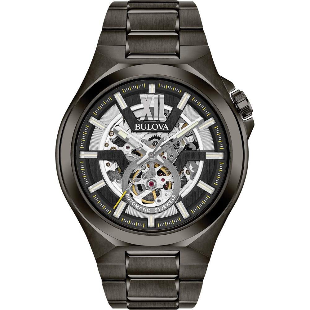Bulova Automatic Stainless Steel Casual