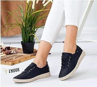 Can Faletti 735 Bağcıklı Kadın Ayakkabı