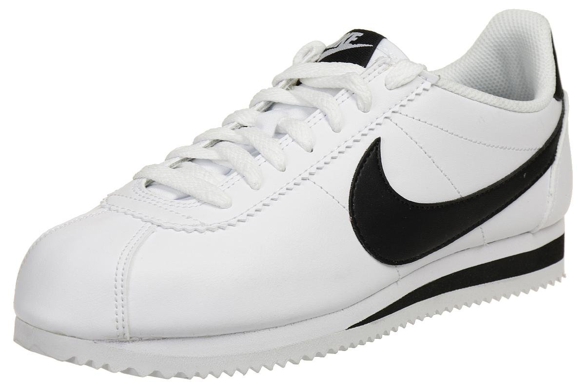 Amazon.com   Nike Women's Classic Cortez Leather White/Barely Volt ...