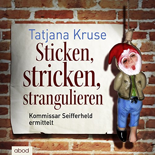 Sticken, stricken, strangulieren audiobook cover art