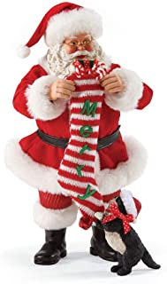 "Department 56 Possible Dreams Santa Claus ""Got Catnip?"" Clothtique Christmas Figurine"