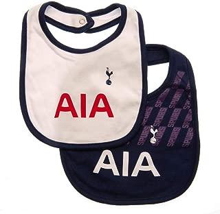 Tottenham Hotspur FC 2019/20 Unisex Baby Bibs (Set of 2)