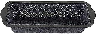 Zenker 685533 Cake, Rectangle, Moule à gâteau, Silicone Fibre de Verre, Gris, 31,5 x 14,2 x 5,2 cm