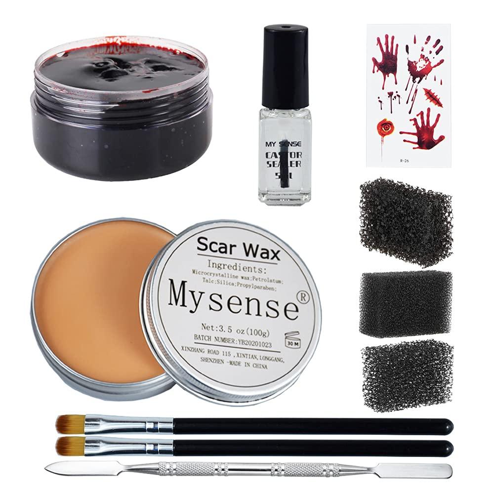 Mysense 3.5Oz 100g Rare Nose and Scar Make Wax Special SFX Zombie Up Super sale