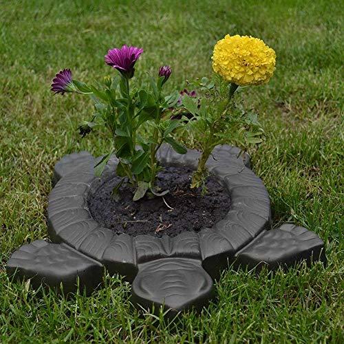 Molde para pavimento de tortuga, molde de tortuga, cemento de hormigón, camino de jardín, decoración de paisajes, 15.7 x 13.4 x 1.5 in