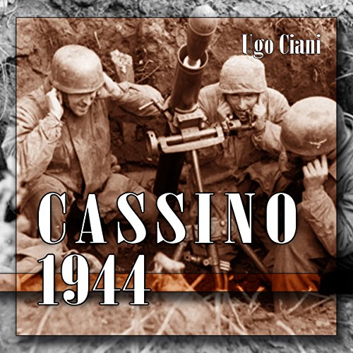 Cassino 1944 audiobook cover art