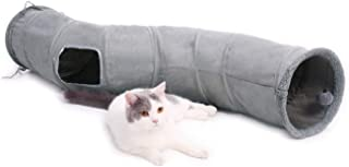 PAWZ Road Cat Tunnel Collapsible S Shape Cat Play Tube 10.5 Inches in Diameter