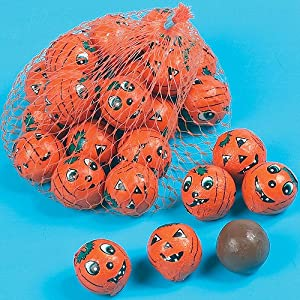 halloween chocolate pumpkin balls (pack of 16) Halloween Chocolate Pumpkin Balls (Pack of 16) 61XCN2pUpxL
