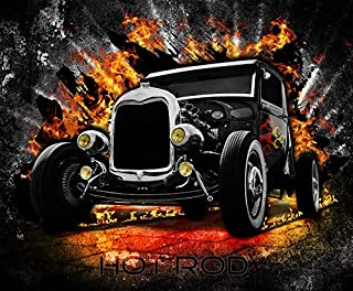 My hot Rod A 10 1/2 x 13 1/2 Inch 252 Pc Puzzle
