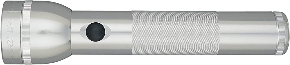 Maglite LED 2-Cell D Flashlight, Silver