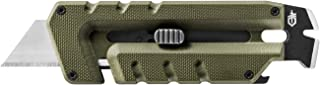 Gerber Prybrid Utility, Pocket Utility Knife with Prybar, Green [31-003743]