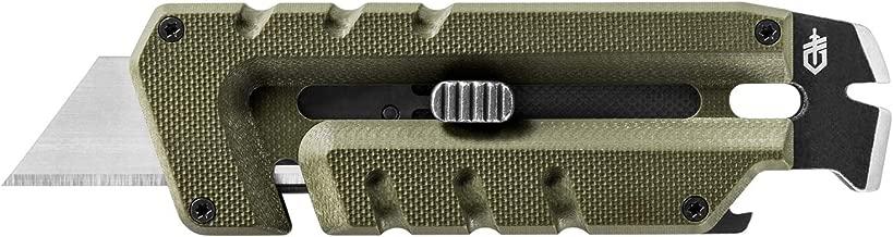 Gerber Prybrid Utility, Pocket Utility Knife with Prybar, Green [31-003743]