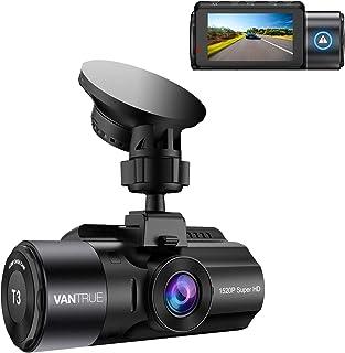 【2020最新版】 VANTRUE T3 ドライブレコーダー 1520PスーパーHD 超高画質 24時間駐車監視 マイクロ波監視 衝撃監視 スーパーコンデンサ 160度広角視野 HDR搭載 車載カメラ LED信号機対策 ドライブ レコーダー ド...
