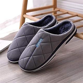 LLDKA Pantoufles antidérapantes Confortables à Domicile pour Les Pantoufles de Coton Pantoufles en Plein air à l'intérieur...