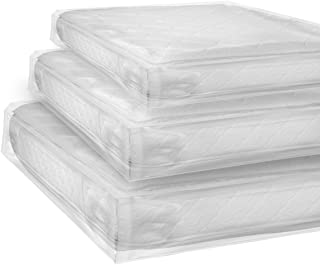 King Size, Heavy Duty Mattress Bag For Moving & Storing Fits Standard, Pillow-Top Variation & Protects Mattress From Stains, Tears, Dirt, Water, Bugs & More