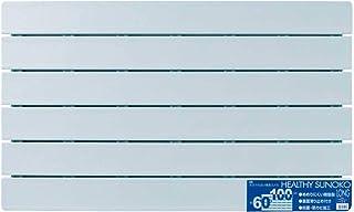 オーエ すのこ ブルー 約縦60×横100×奥行3cm 風呂 ヘルシースノコ ロング 抗菌 防カビ 裏面滑り止め付き 日本製