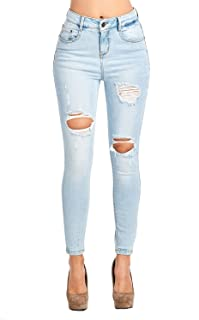 Best blue faded ripped skinny jeans Reviews