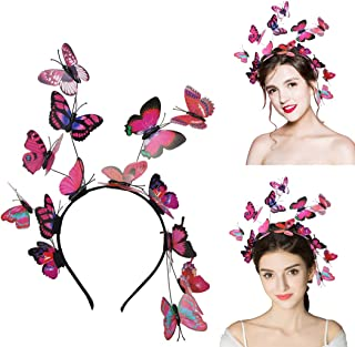 Butterfly Headbands for Women Hair Hoop, Mother day gift,Aniwon Creative Elegant Design Hair Band Costume Accessories Head...